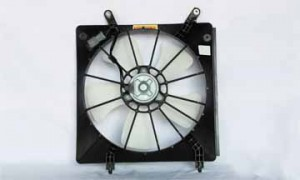 1998-2002 Honda Accord Radiator Cooling Fan Assembly (4 Cylinder / Denso)