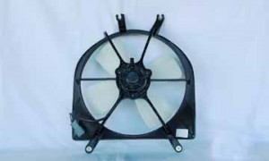 1992-1998 Honda Civic Radiator Cooling Fan Assembly