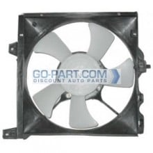 1998-1999 Nissan 200SX Radiator Cooling Fan Assembly