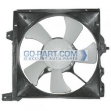 1995-1997 Nissan 200SX Radiator Cooling Fan Assembly
