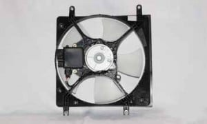 2001-2003 Mitsubishi Galant Radiator Cooling Fan Assembly