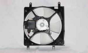 1999-2003 Mitsubishi Galant Radiator Cooling Fan Assembly