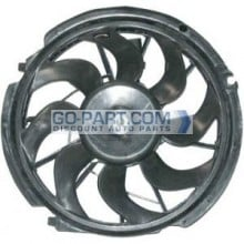 1996-2000 Mercury Sable Radiator Cooling Fan Assembly