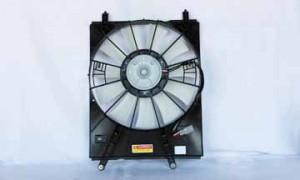 1998-2003 Toyota Sienna Radiator Cooling Fan Assembly (Left Side)