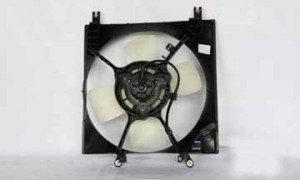 1997-2002 Mitsubishi Mirage Radiator Cooling Fan Assembly (1.8L / Manual)