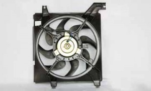 2001-2006 Hyundai Elantra Radiator Cooling Fan Assembly