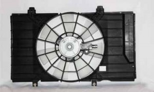 2003-2005 Dodge Neon Radiator Cooling Fan Assembly (2.0L / Manual)