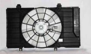 2002-2002 Dodge Neon Radiator Cooling Fan Assembly