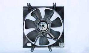 2001-2004 Kia Spectra Radiator Cooling Fan Assembly