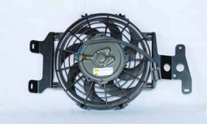 2002-2005 Mercury Mountaineer Radiator Cooling Fan Assembly