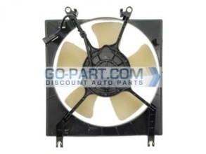 1997-2002 Mitsubishi Mirage Radiator Cooling Fan Assembly (1.8L / Automatic / TYC)