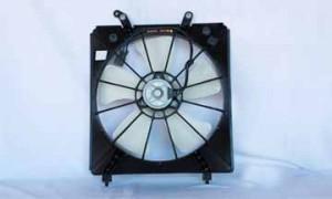 1998-2002 Honda Accord Radiator Cooling Fan Assembly (V6)