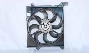 2005-2009 Kia Spectra Radiator Cooling Fan Assembly