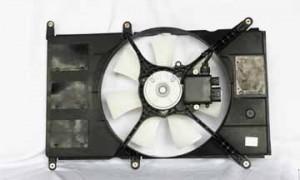 1999-2000 Mitsubishi Galant Radiator Cooling Fan Assembly