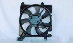 2003-2008 Hyundai Tiburon Radiator Cooling Fan Assembly