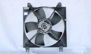 2005-2008 Suzuki Reno Radiator Cooling Fan Assembly (Left Side)