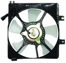 1993-1995 Mazda 626 Condenser Cooling Fan Assembly