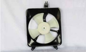 1990-1993 Honda Accord Condenser Cooling Fan Assembly
