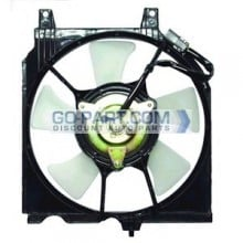 1996-1996 Nissan Sentra Condenser Cooling Fan Assembly (Mexico Built)