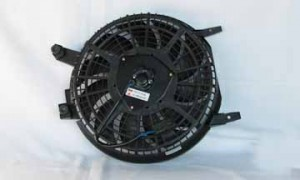 1996-1997 Toyota Corolla Condenser Cooling Fan Assembly