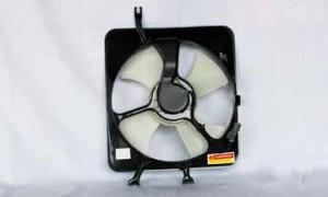 1997-2001 Honda CR-V Condenser Cooling Fan Assembly