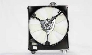 1999-1999 Toyota Camry Condenser Cooling Fan Assembly