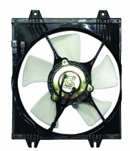 1994-1997 Mitsubishi Galant Condenser Cooling Fan Assembly