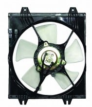 1998-1998 Mitsubishi Galant Condenser Cooling Fan Assembly