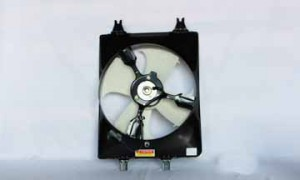 1999-2004 Honda Odyssey Condenser Cooling Fan Assembly