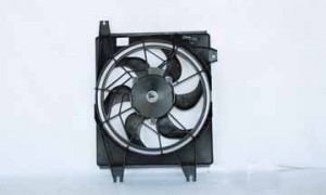 1996-2000 Hyundai Elantra Condenser Cooling Fan Assembly