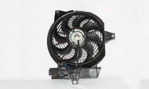 2001-2006 Hyundai Santa Fe Condenser Cooling Fan Assembly