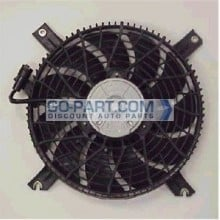 2002-2004 Chevrolet (Chevy) Tracker Condenser Cooling Fan Assembly