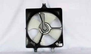2003-2007 Honda Accord Radiator Cooling Fan Assembly (Coupe / Sedan / V6 / Right Side)