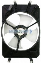 2004-2008 Acura TL Condenser Cooling Fan Assembly