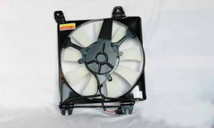 2001-2005 Chrysler Sebring Condenser Cooling Fan Assembly