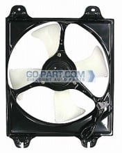 1999-2002 Mitsubishi Galant Condenser Cooling Fan Assembly