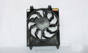 2007-2009 Hyundai Santa Fe Radiator Cooling Fan Assembly (Right Side)