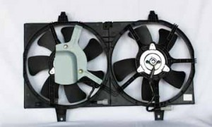 2000-2006 Nissan Sentra Radiator Cooling Fan Assembly