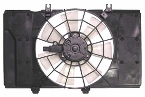 2000-2001 Dodge Neon Radiator Cooling Fan Assembly