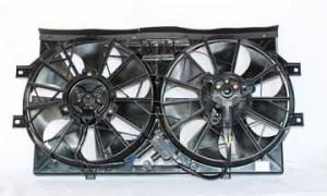 1994-1997 Chrysler New Yorker LHS Radiator Cooling Fan Assembly