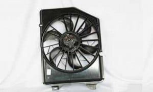 1991-1993 Ford Taurus Radiator Cooling Fan Assembly