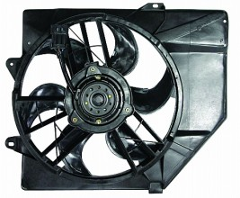 1993-1996 Ford Escort Radiator Cooling Fan Assembly