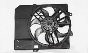 1997-2002 Ford Escort Radiator Cooling Fan Assembly