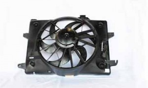 1998-2000 Ford Crown Victoria Radiator Cooling Fan Assembly