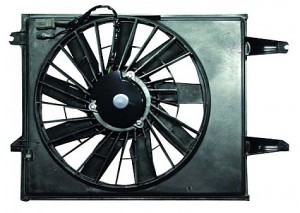 1993-1995 Nissan Quest Van Radiator Cooling Fan Assembly (Standard Duty)