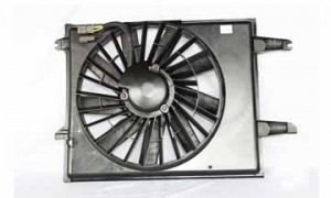 1993-1993 Mercury Villager Radiator Cooling Fan Assembly