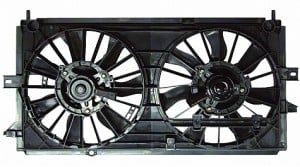2000-2003 Chevrolet (Chevy) Monte Carlo Radiator Cooling Fan Assembly