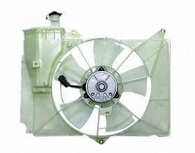 2000-2005 Toyota Echo Radiator Cooling Fan Assembly