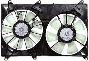 2001-2007 Toyota Highlander Radiator Cooling Fan Assembly