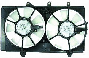 2003-2005 Dodge Neon Radiator Cooling Fan Assembly (2.4L)